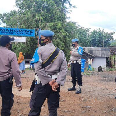 Tempat Wisata Menjadi Lokasi Favorit Ngabuburit, Polsek Sekotong dan Pendes Sekotong Tengah Perketat Pengwasan Prokes