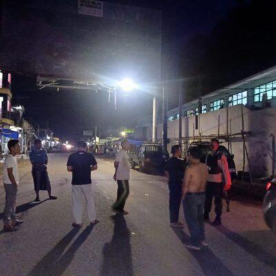 Sejumlah Remaja di kediri Lombok Barat Diamankan Polisi, Lakukan Aksi Balap Lari Hingga Blokir Jalan
