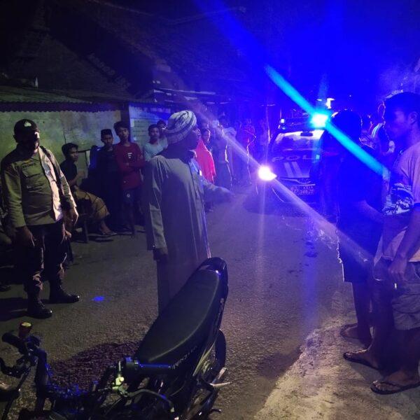 Polsek Gerung Gagalkan Balap Liar Sekelompok Remaja di Desa Taman Ayu